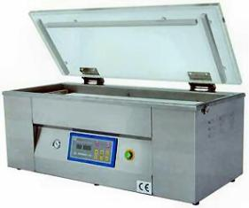 chamber sealer for fish packaging